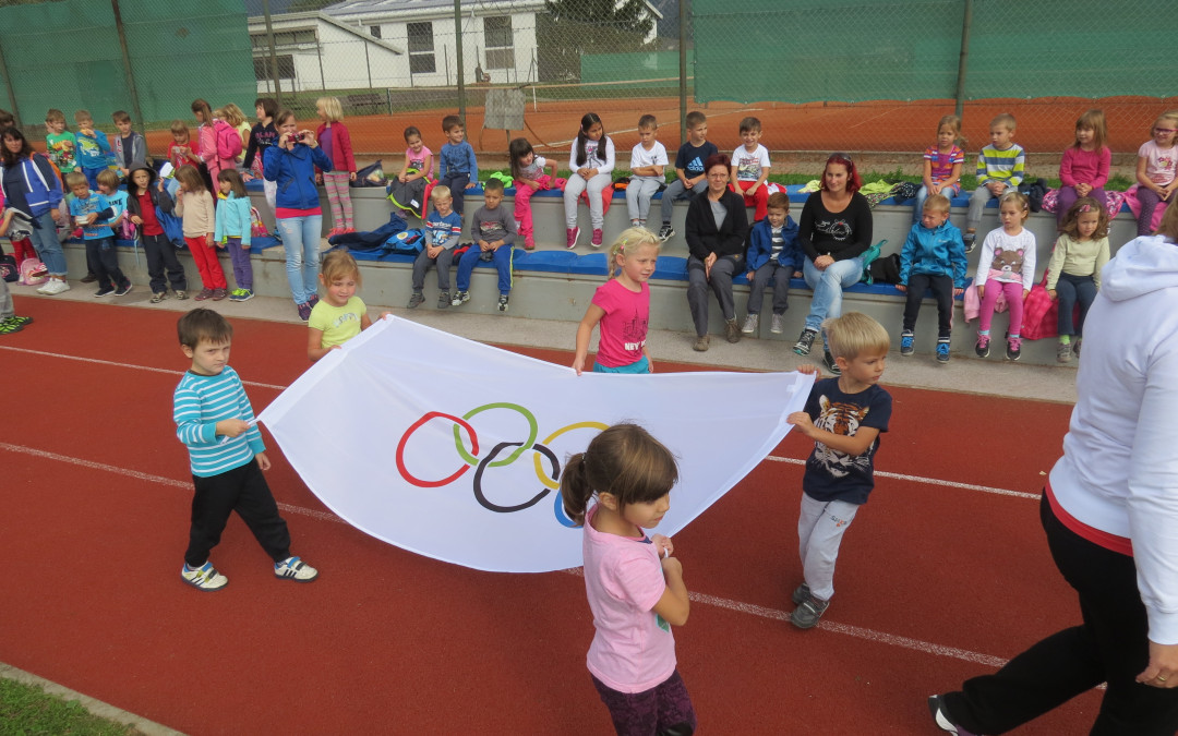 Mini olimpijada za vrtec in OŠ