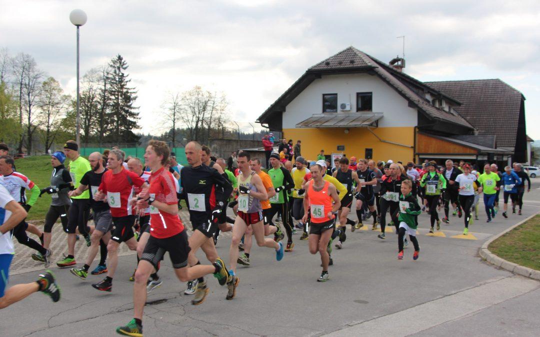 Rezultati teka pod Kriško goro, 17.4.2017