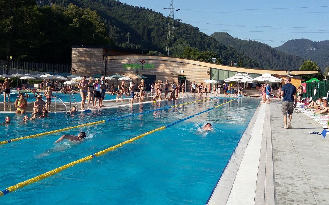 Odprto občinsko prvenstvo v plavanju 31.7.2018 ob 17. uri