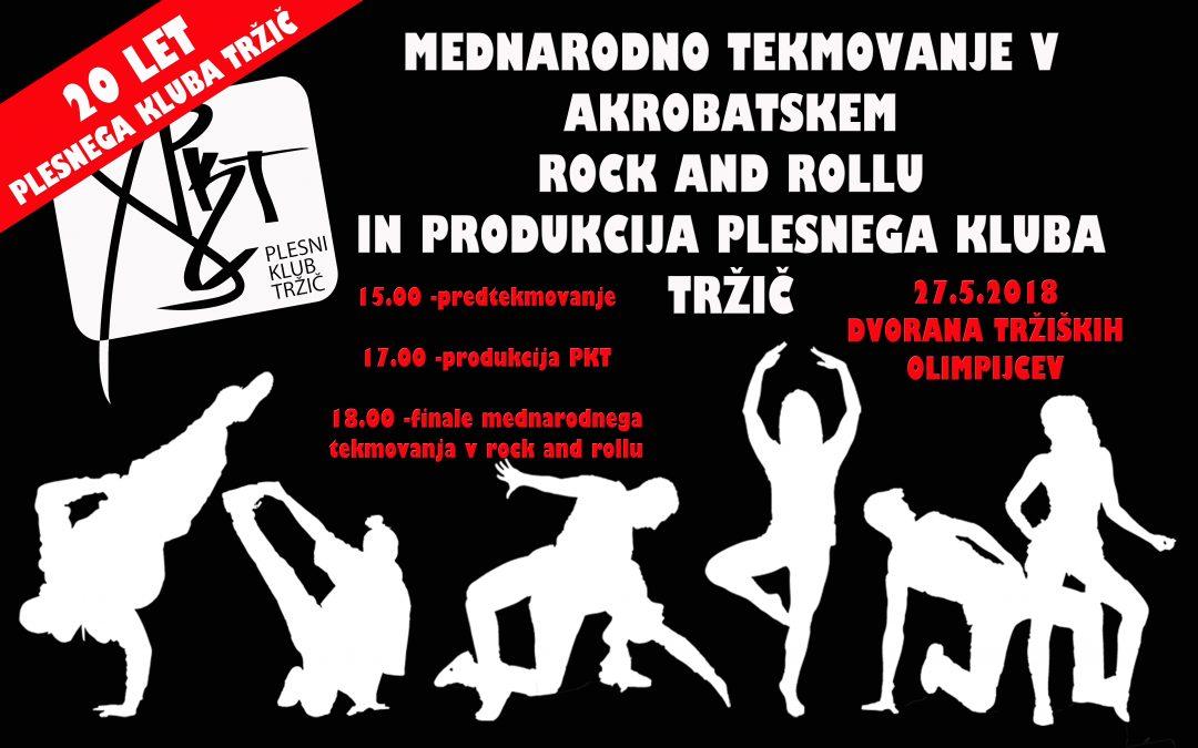 Mednarodno tekmovanje v akrobatskem rock & rollu, 27.5.2018 v DTO