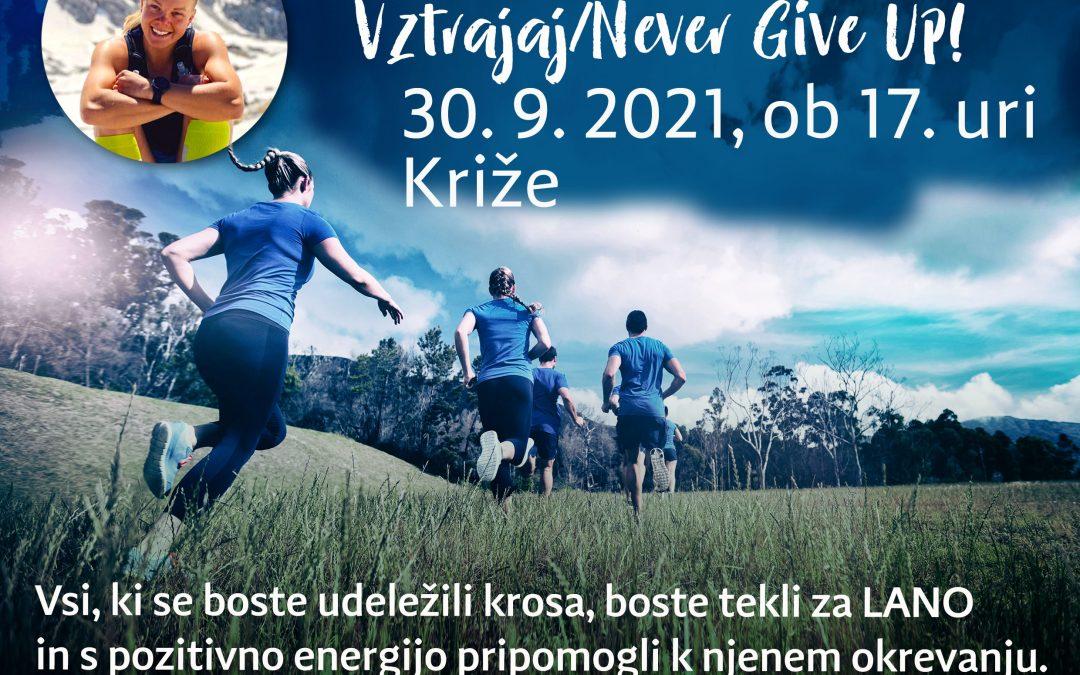 Občinsko prvenstvo v krosu in dobrodelni tek za Lano_ Križe 30.9.2021 ob 17. uri