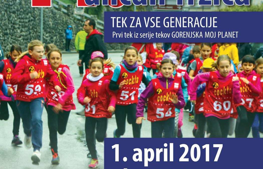 11. tek po ulicah Tržiča, 1. april 2017